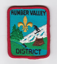 SCOUT OF CANADA - NEWFOUNDLAND & LABRADOR SCOUTS (NFLD) HUMBER VALLEY DIST Patch
