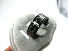 Wholesale 30pcs Stainless Steel Lord's Prayer Men or Women Cross Band Ring