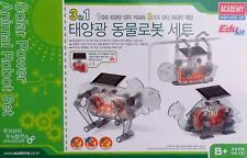Academy edu kit 18115: Solar-Tier-Roboter (3 in 1)