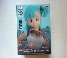 DRAGONBALL DRAGON BALL Z BULMA AUTHENTIC FIGURE BANPRESTO LAST ONE PACKAGE BEND