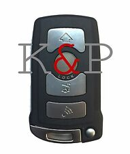 NEW BMW Key Fob Keyless Remote COMPLETE KEY 4 Button LIFE WARRANTY!