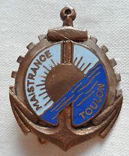 Insigne Marine Nationale ECOLE DE MAISTRANCE TOULON 1945/1960 ORIGINAL DRAGO BER