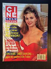CINE REVUE 1988 N°46 jeane manson richard gere joe penny