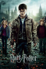 Harry Potter and the Deathly Hallows Part 2 One Sheet Movie Poster Print - 24x36
