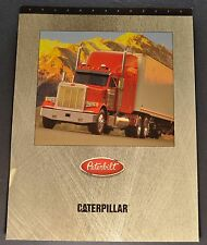 1997-1998 Peterbilt Truck Caterpillar Engine 3406E Brochure Sheet Excellent Orig