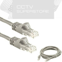 100 ft feet Cat5 Cable CAT5E RJ45 LAN Network Ethernet Router Switch Gray Cord