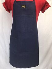 NEW Unisex STAN RAY Indigo Denim Shop Apron 2-pocket Made in USA