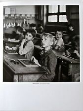 Robert Doisneau CLOSE TO THE RIGHT ANSWER-14x11 Offset Lithograph Unsigned