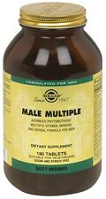 Solgar Male Multiple Multi-Vitamin, Mineral and Herbal for Men 180 tablets SALE