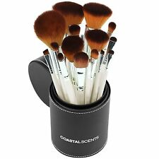 Coastal Scents Makeup Brushes, 16 Pearl Piece Cosmetic Brush Set, New