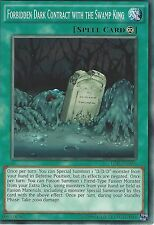 YU-GI-OH CARD: FORBIDDEN DARK CONTRACT WITH THE SWAMP KING - TDIL-EN056