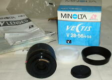 Minolta VECTIS V28-56 4-5.6 Lens New Old Stock #Buddy
