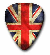 10 UK England Flag ~ Guitar Picks ~ Plectrums ~ Printed Both Sides FREE POSTAGE