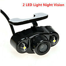 Car 170° Wide-Angle 2 LED Light Night Vision View Reverse Backup Parking Camera