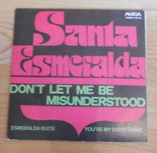 DDR   Vinyl Amiga  Santa Esmeralda   + Schallplatte single  +  ansehen