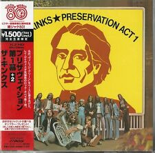 MINI LP CD VYNIL RÉPLICA IMPORT JAPON + OBI THE KINKS / PRESERVATION ACT 1