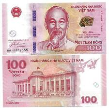 VIETNAM 100 DONG 2016 COMMEMORATIVE 65 YEAR NATIONAL BANK UNC P 125 NEW