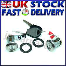 DOOR LOCK SET BARREL & KEYS COMPATIBLE WITH NISSAN TERRANO 2 R20 & SUNNY N14