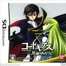 Used DS Code Geass: Hangyaku no Lelouch NINTENDO JAPANESE IMPORT