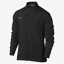New Nike Men's L PR Woven Running Full Zip Training Jacket Black $80