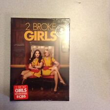 2 Broke Girls: The Fifth Season 5 Five (DVD, 2016, 3-Disc) Brand New & Sealed!!