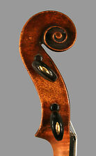 A very fine old violin labeled Antonio Gagliano, Napoli, 1853
