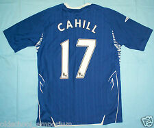 Everton FC / 2007-2008 Home - CAHILL #17 - UMBRO - MENS Shirt / Jersey. Size: S