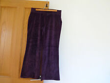 Purple Marks and Spencer trousers to fit a size 12
