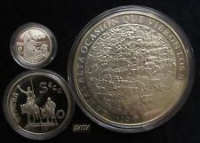 *GUTSE* 1+5+25 ECU 1994, SERIE CERVANTES, PROOF