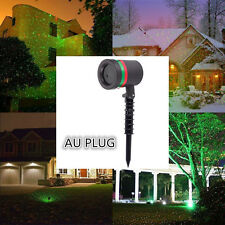 Outdoor X-max Star Light Super Laser Spotlight Garden Christmas Party AU PLUG