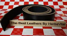 """AUTHENTIC HORWEEN CHROMEXCEL BLACK LEATHER 67.5"""" x 1.25"""" FOR BELT & STRAP First"""