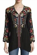 NWT Johnny Was XL EXTRA LARGE may fit XXL EMILY BLOUSE Embroidered Tunic Top