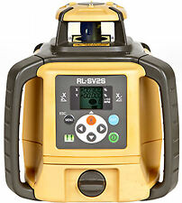 New Topcon RL-SV2S Dual Grade Self-Leveling Rotary Laser Level