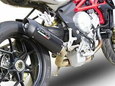 SILENCIEUX GPR FURORE LOOK CARBONE MV AGUSTA BRUTALE 675 / RR / DRAGSTER 2013/15