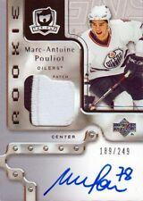 06-07 The Cup ROOKIE JERSEY AUTO xx/249 Made! Marc-Antoine POULIOT #129 - Oilers