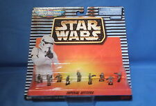 Star Wars Micro Machines Action Fleet IMPERIAL OFFICERS SET OF 9 MOC