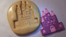 PRINCESS CASTLE Silicone Mold-for polymer clay, wax, resin, fondant, candy