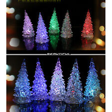 LED Battery Operated Colour Changing Desk Table Top Christmas Tree Light