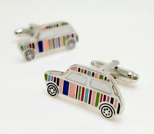 Bouton de manchette Paul Smith  style type Mini Cooper sport car lover Cufflinks
