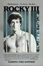 ROCKY 3 Movie POSTER 27x40 B Sylvester Stallone Talia Shire Burgess Meredith