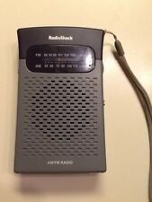 Radio Shack AM FM Pocket Radio model 12-586