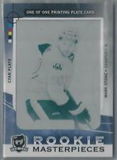 2012-13 UPPER DECK THE CUP ROOKIE MASTERPIECES CYAN PLATE MARK STONE RC 1/1!!