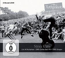 STRAY CATS - LIVE AT ROCKPALAST 2 CD + DVD NEU