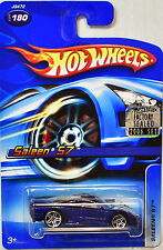HOT WHEELS 2006 SALEEN S7 #180 BLUE FACTORY SEALED