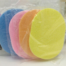 Health Facial Face Wash Cleansing Sponge Puff Pad Makeup Remover Puffs New VNC