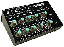 ProSound 4 Canali Micro Stereo mixer per microfoni e strumenti