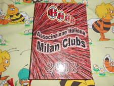 DIARIO Milan Club 2008 CALCIO SPORT