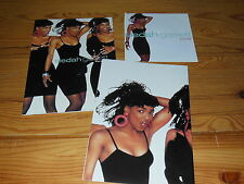 SIEDAH GARRETT - KISS OF LIFE / GERMANY PRESSE-HEFT & POSTER & 7'' SINGLE 1988