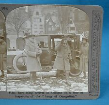 WW1 Stereoview Earl Haig At Cologne To Inspect Occupation Army Realistic Travels