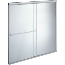 "MAAX® By-Pass Shower Door Rain Textured Glass Deluxe 68H x 44-1/2 To 46-1/2""W"